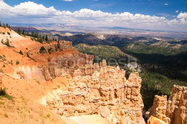 Vast landscape of Bryce Canyon National Park Stock photo © emattil