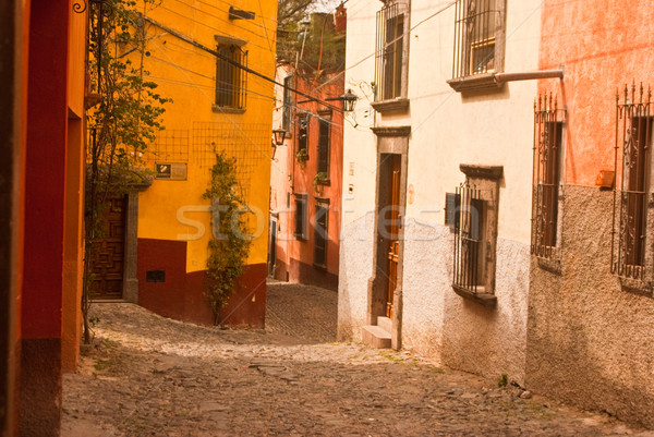 Mexican sidestreet Stock photo © emattil