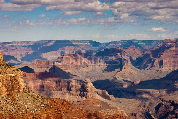 Grand Canyon vista on a Summers day Stock photo © emattil