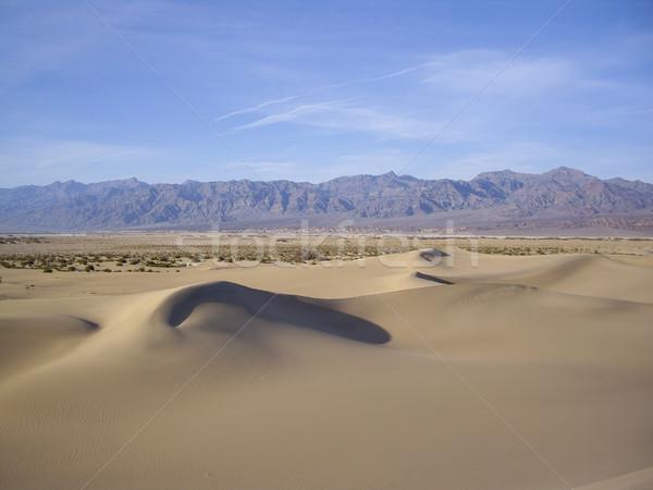死 谷 自然 砂漠 冬 ストックフォト © emattil