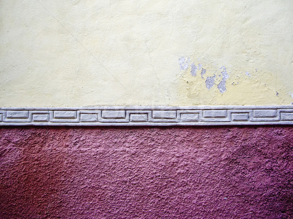 Old adobe wall in Mexico Stock photo © emattil