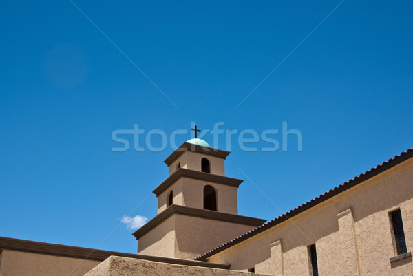 Church Rooftop Stock photo © emattil