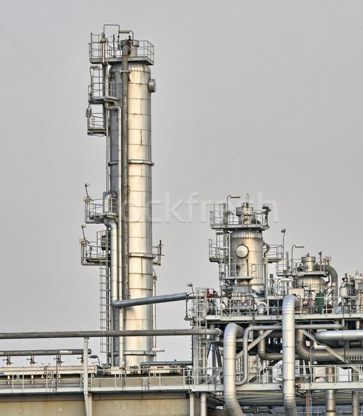 промышленных установка порта Роттердам Нидерланды Сток-фото © emiddelkoop