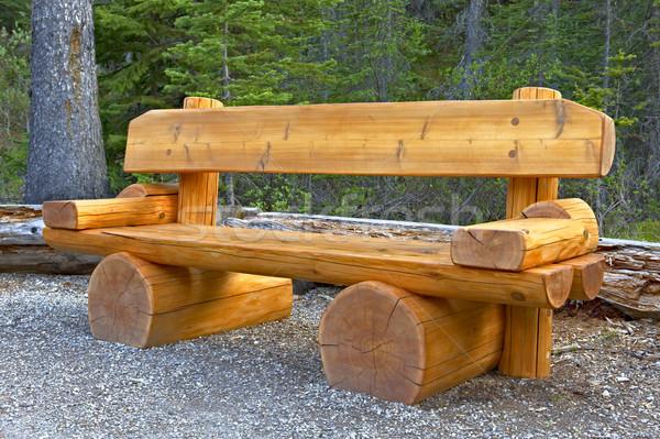Cute bench Stock photo © emiddelkoop