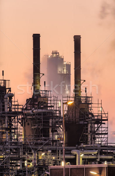 Industrial early morning scene  Stock photo © emiddelkoop