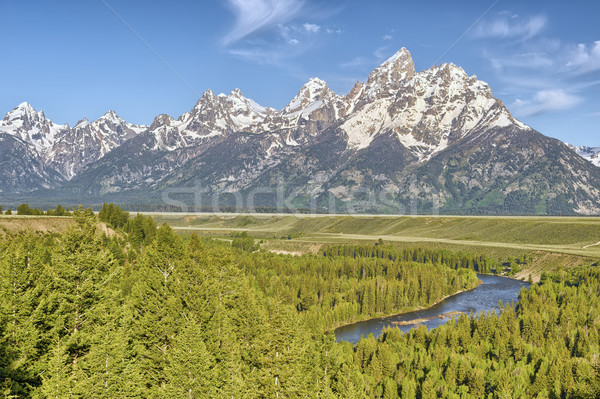 Snake River Overlook Stock photo © emiddelkoop