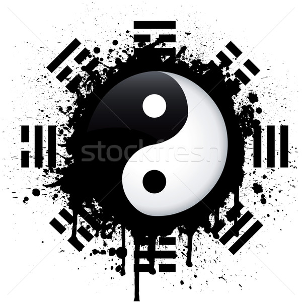 yin yang Stock photo © emirsimsek
