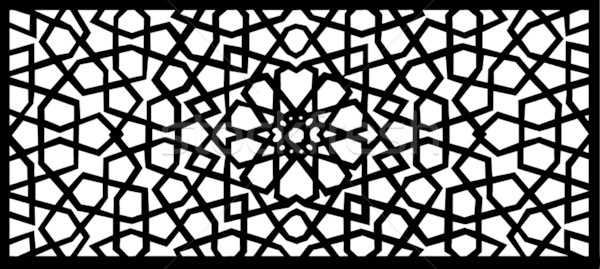 Stock Photo / Stock Vector Illustration: Vector Design Of An Islamic Pattern