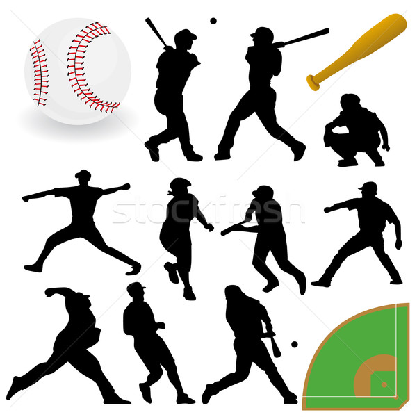 Baseball Collection Stock photo © emirsimsek