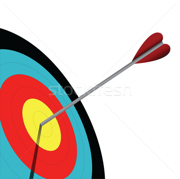 Szem íjászat cél sport háttér jókedv Stock fotó © emirsimsek