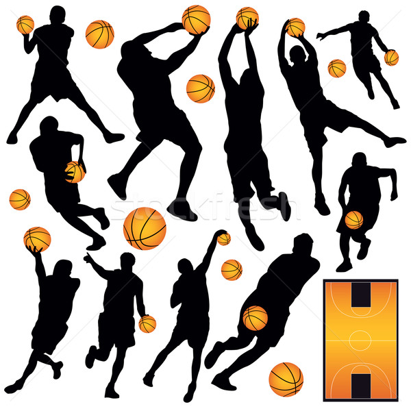 Basketball Collection Stock photo © emirsimsek