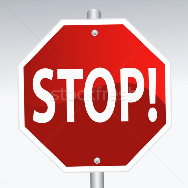 stop sign Stock photo © emirsimsek