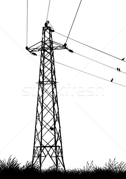 Transmission Tower Stock photo © emirsimsek