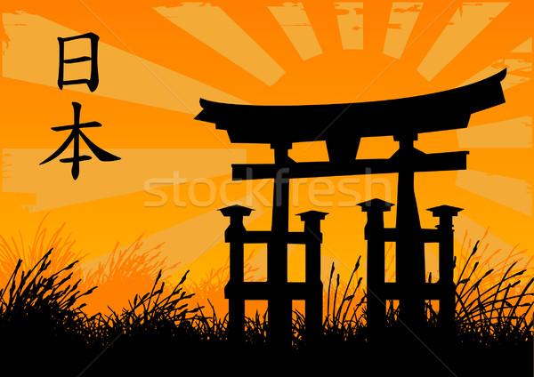 Japanese Style Stock photo © emirsimsek