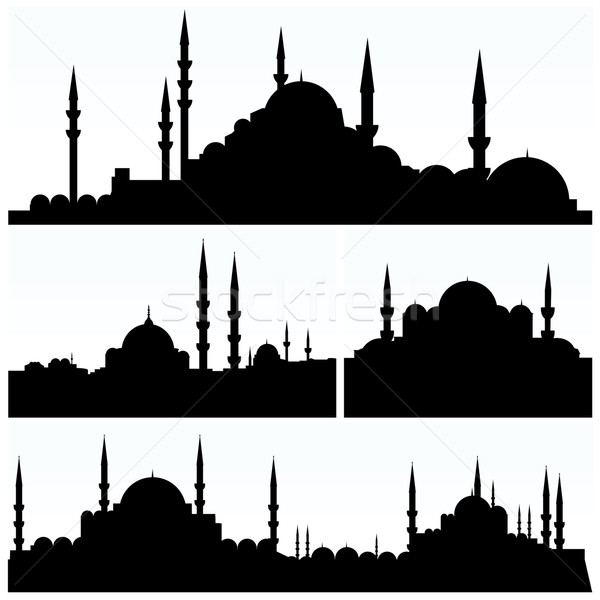 Stock photo: Arabesque Cityscapes