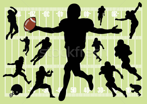 Football Collection Stock photo © emirsimsek