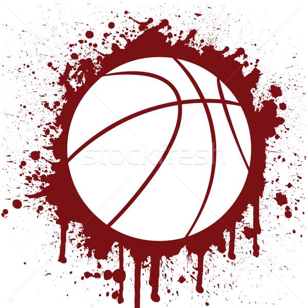 Kosárlabda sport háttér hideg játék kosz Stock fotó © emirsimsek