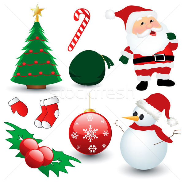 Christmas Collection Stock photo © emirsimsek