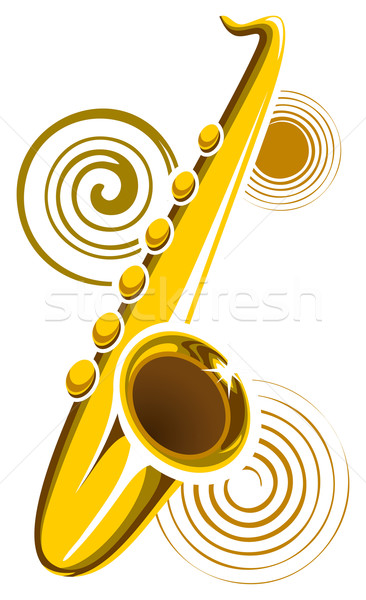 Saxophone Stock photo © ensiferrum