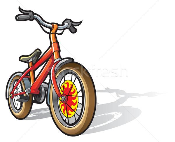 Bambini bicicletta luminoso colorato velocità giocattolo Foto d'archivio © ensiferrum