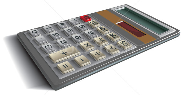 オフィス 電卓 観点 表示 ビジネス マシン ストックフォト © ensiferrum