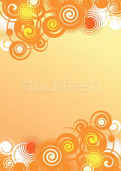 Abstract estate luminoso confine impianto Foto d'archivio © ensiferrum