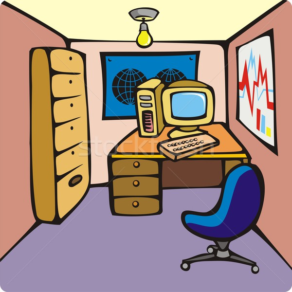 Karikat 252 R 183 Ofis 183 Oda 183 B 252 Ro 183 Kişisel 183 Bilgisayar