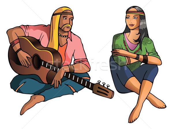 Hippie Stock photo © ensiferrum
