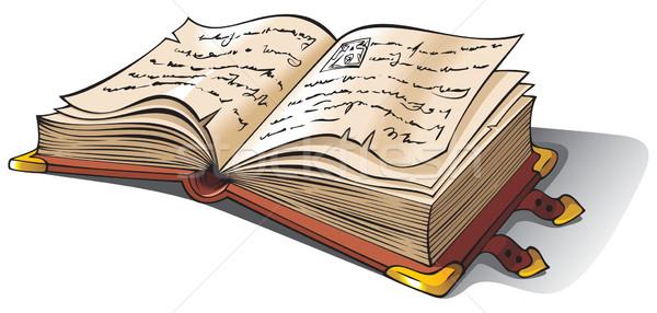 Рисунок старые книги в