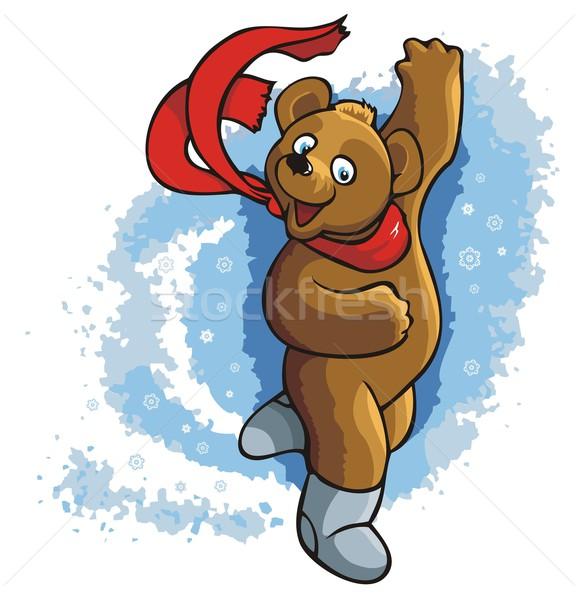 Dancing bear Stock photo © ensiferrum