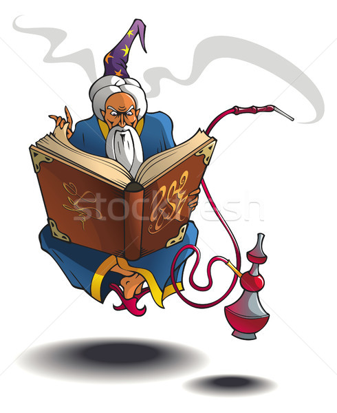 Arabian wizard Stock photo © ensiferrum