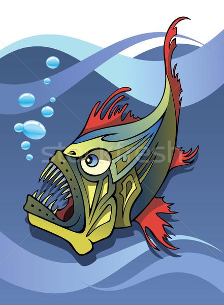Stock photo: Deep-sea fish