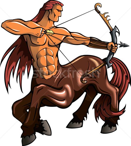 Centaur Stock photo © ensiferrum