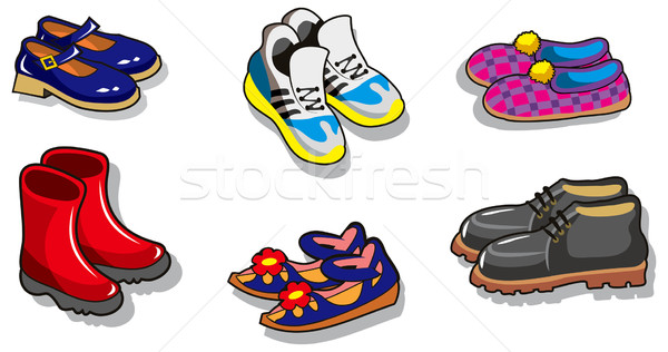 Shoes Stock photo © ensiferrum