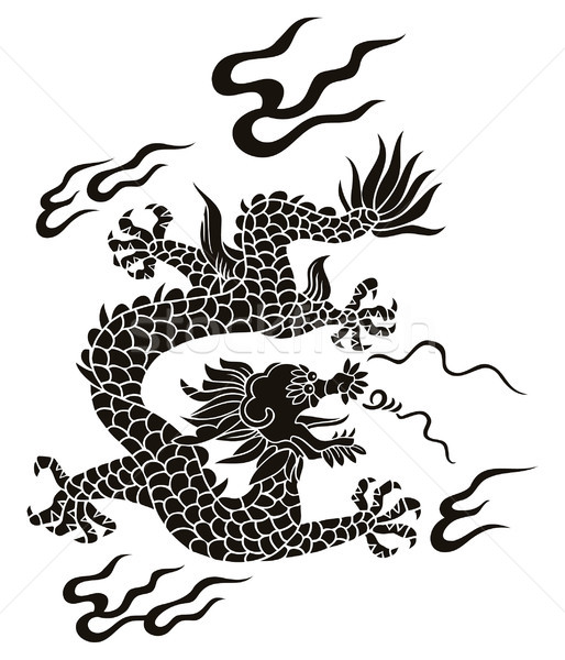 Chinese dragon Stock photo © ensiferrum