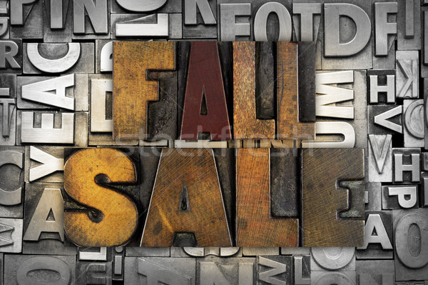 Fall Sale Stock photo © enterlinedesign