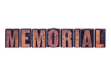Karatê isolado palavra escrito vintage Foto stock © enterlinedesign