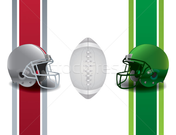 American Football Championship Stock photo © enterlinedesign
