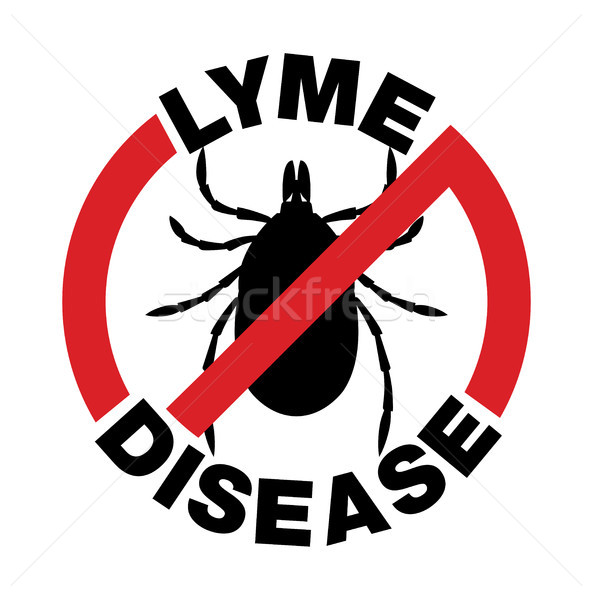 Anti Lyme Disease Tick Bite Icon Stock photo © enterlinedesign