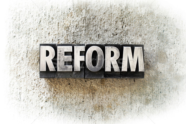 Reform Stock photo © enterlinedesign