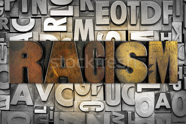 Racism Stock photo © enterlinedesign