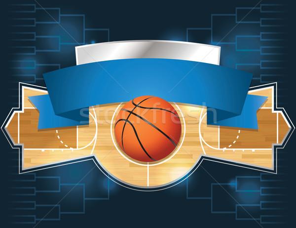 Basketball Tournament Stock photo © enterlinedesign
