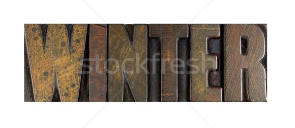 Winter Stock photo © enterlinedesign