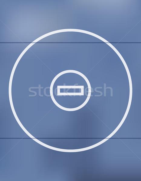 Mavi güreş örnek vektör eps 10 Stok fotoğraf © enterlinedesign