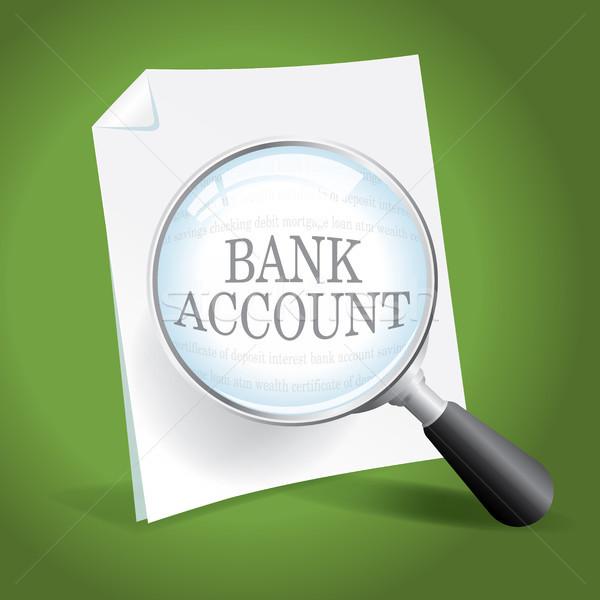 Foto stock: Financieros · registros · toma · mirar · personal