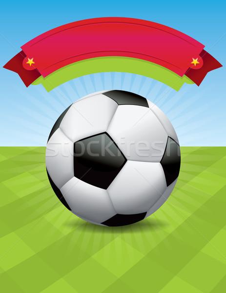 Vector torneo de fútbol diseno agradable evento más Foto stock © enterlinedesign