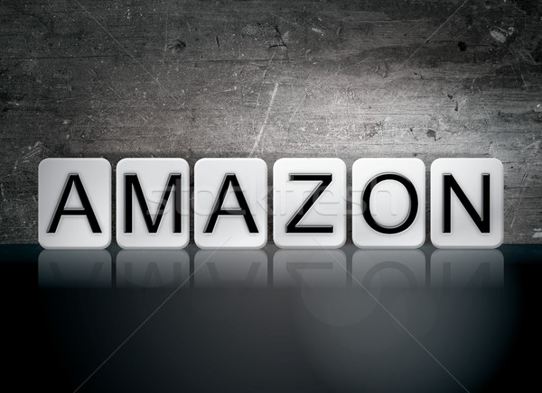Amazon Tiled Letters Concept and Theme Stock photo © enterlinedesign