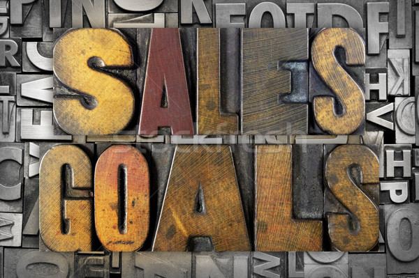 Sales Goals Stock photo © enterlinedesign