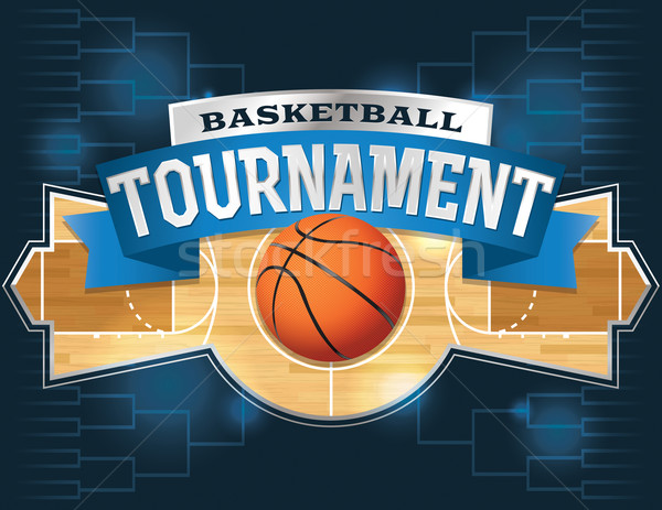 Basketball Tournament Stock photo © enterlinedesign