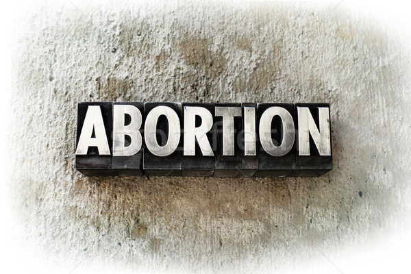 Abortion Stock photo © enterlinedesign